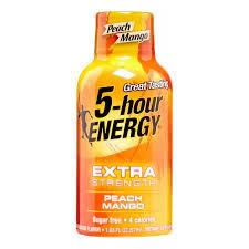 5 hour energy drink health food